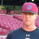 Fans get first look at new head baseball coach
