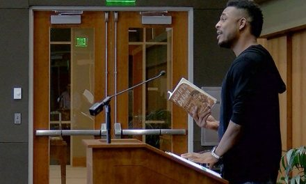 Award-winning poet returns home to promote his new book