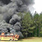 S.C. buses older than fifteen years catch on fire and need to be replaced