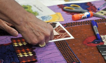 Traveling postcards workshop creates compassion, healing and recovery through art