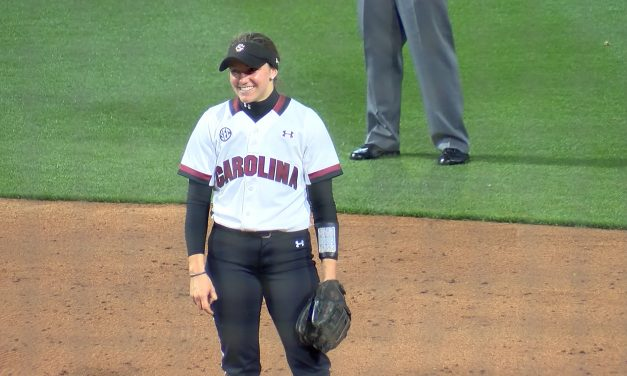 Back in Action: Maguire is making her presence felt on the diamond