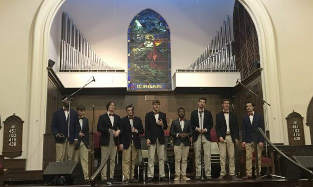 The Carolina Gentlemen sing their hearts out