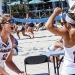 Gamecocks dig winning: Beach volleyball duo has major winning streak