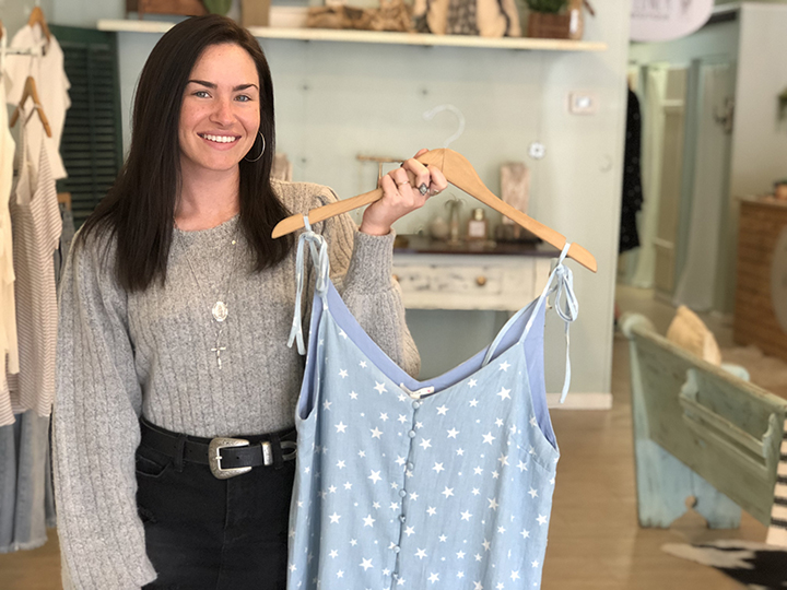 Ryleigh Fleming, new owner of Wildflower Boutique in Five Points, chose to participate in USC Fashion Week to showcase how she has rebranded the store since buying it in October 2017.