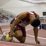 Titi excels on and off the track