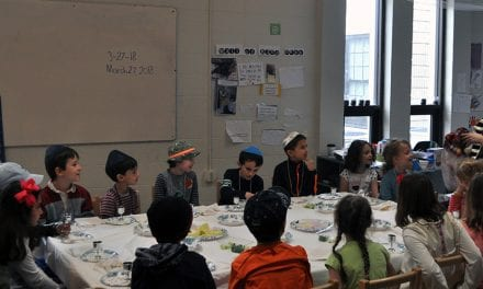 Cutler Jewish Day School learns about Seder: a Passover tradition