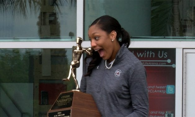 A'ja Wilson honored one last time at USC