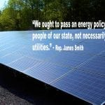 State representatives side with utility companies to kill solar bill
