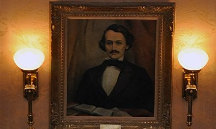 Is it Poe? No, mystery portrait turns out to be Confederate poet