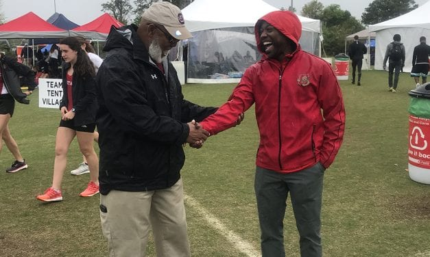 Head coach Curtis Frye makes an impact on and off the track