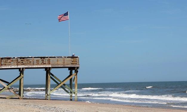 Coastal erosion in South Carolina