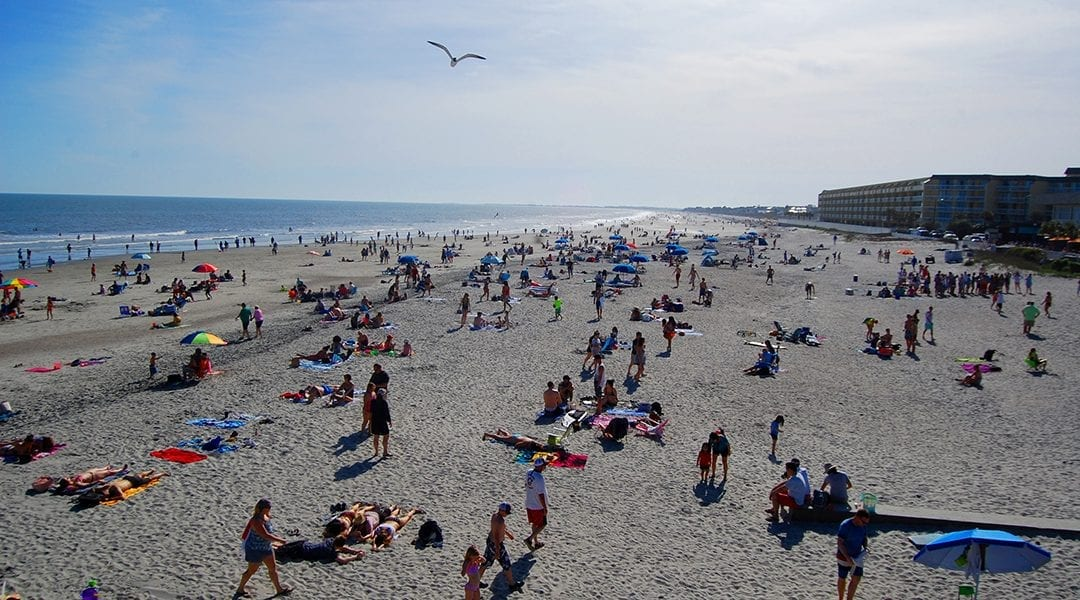 Folly Beach reflects state's battle to save coastal towns