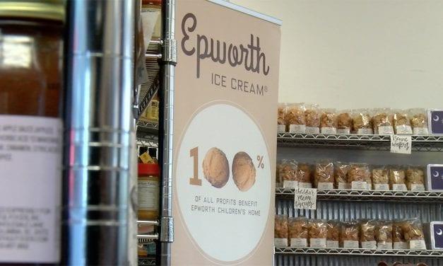 Epworth Ice Cream for the children
