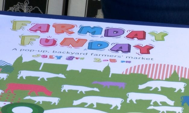 Farmday Funday provides free, healthy foods