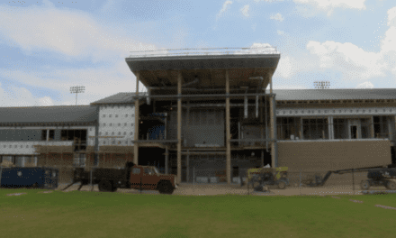 Football operations building bringing success on and off the field