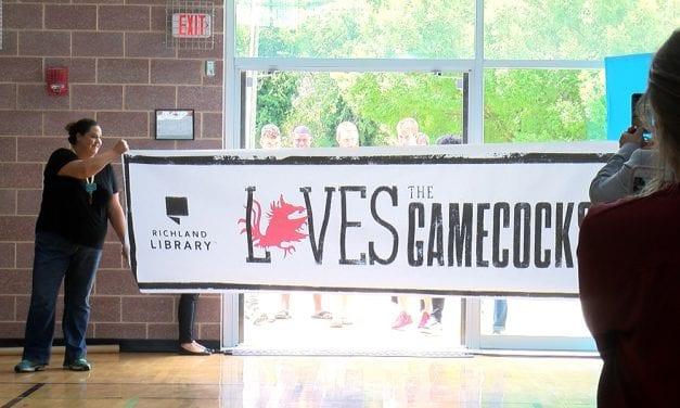 Gamecocks promote reading during the summer