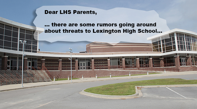Tense day at Lexington High School