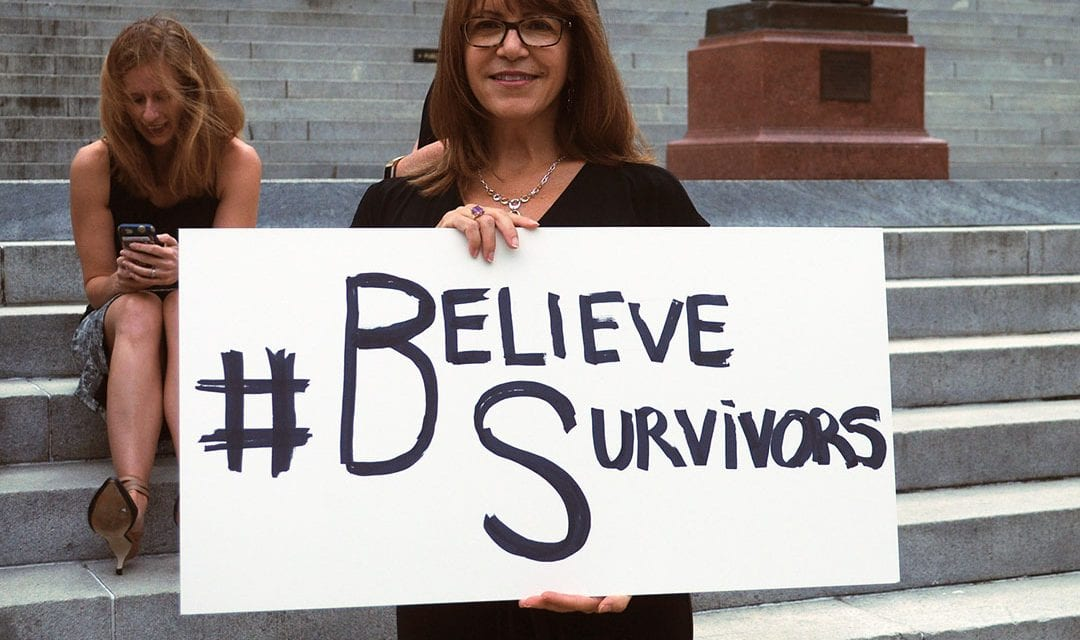 Kavanaugh accuser gains support in S.C. during walkout