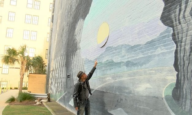 Historic Columbia mural vandalized, artist searches for culprit