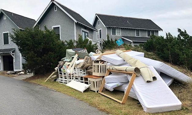 N.C. coastal community struggling to rebuild after Florence