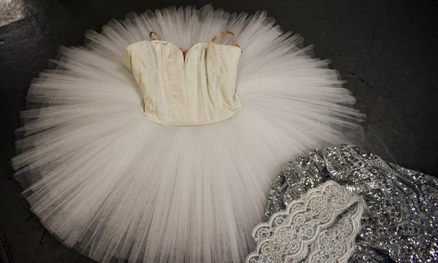 "Backstage magic: Glittering threads, enchanting ""Nutcracker"""
