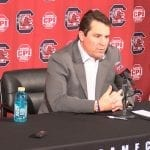 After Clemson loss, Muschamp confident of Akron victory