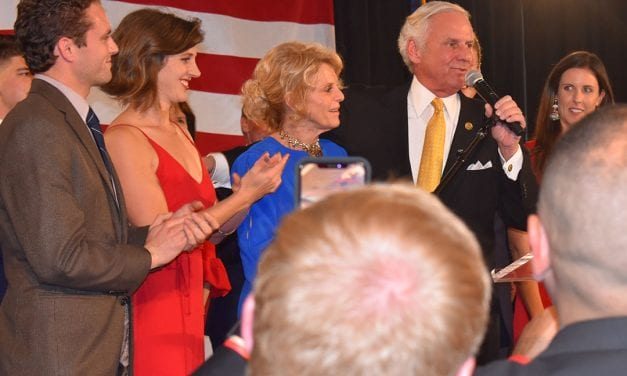 """Chants of """"four more years!"""" as GOP celebrates McMaster win"""