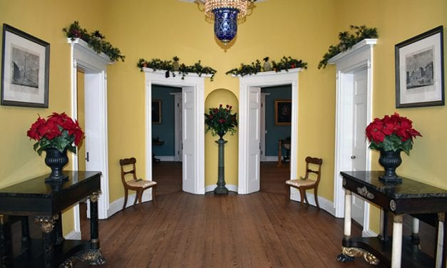 Columbia's historic homes decorated for the holidays