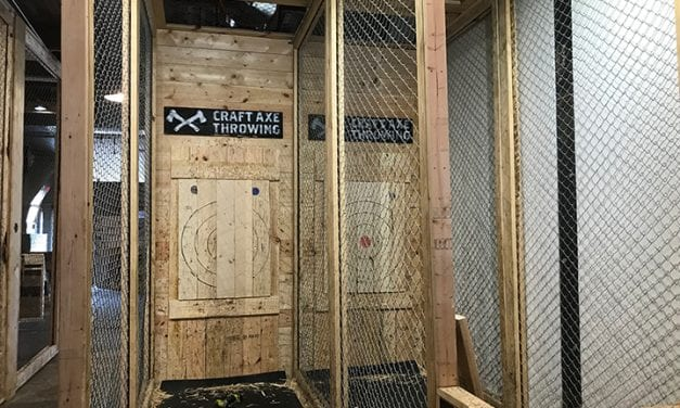 Axe-throwing craze aims for Columbia