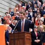 A national champion coach takes on the State House