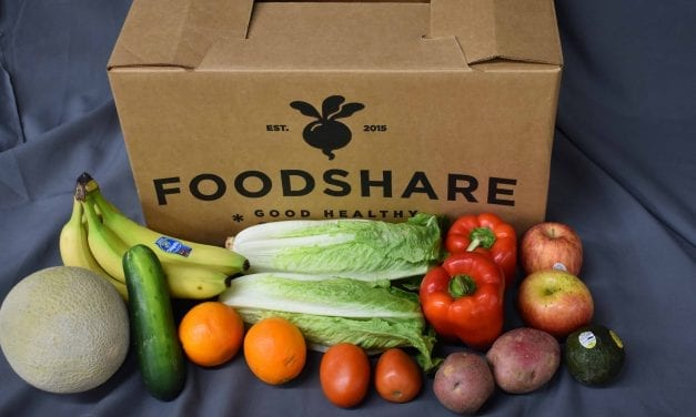 At FoodShare, fresh fruits and a lesson on cooking Brussels sprouts