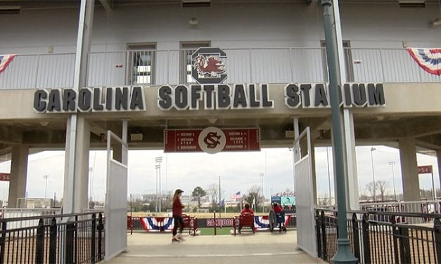 On a springlike day, Gamecock Softball delivers two wins