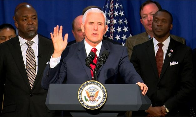 VP Pence promotes economic opportunity in South Carolina