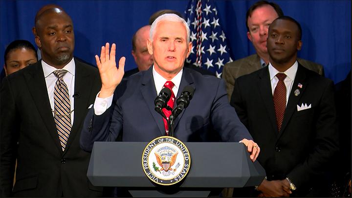 VP Pence promotes economic opportunity in South Carolina