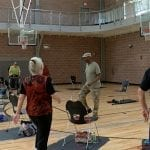 Chair aerobics help senior citizens stay active