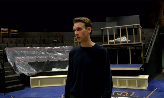 """Curious Incident"" actor looks at the world in a whole new way"