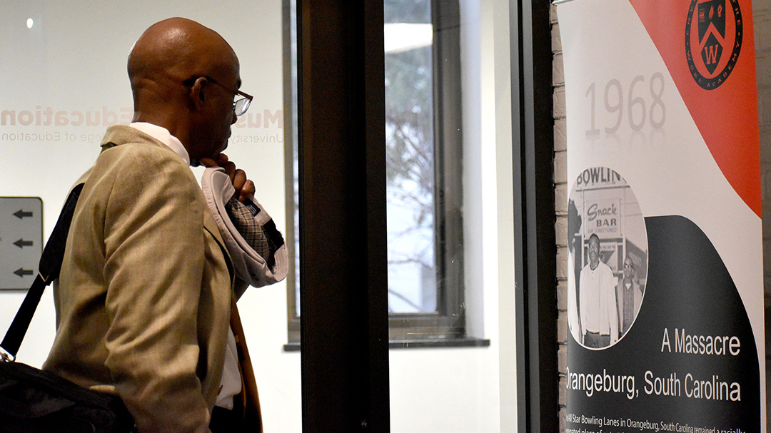 """All hell broke loose"": Orangeburg Massacre survivor opens new 1968 exhibition"