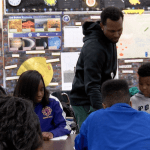 Black teachers in classroom improve outlook for minority students