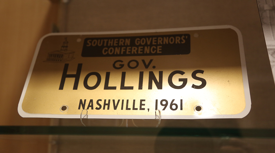 Ernest F. Hollings special collections at USC show late senator's legacy and impact