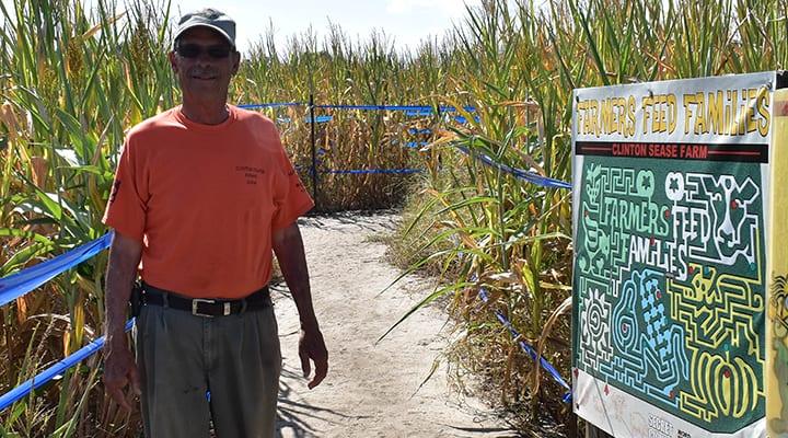 Getting lost in fall fun at a Lexington County corn maze