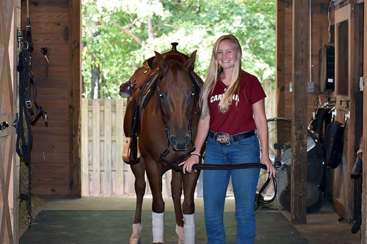 Sellman, Scott lead Gamecock equestrian team in 2019