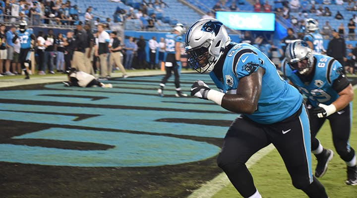 Daley embracing local roots with Carolina Panthers