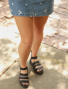 Girl in Dr. Marten Sandals