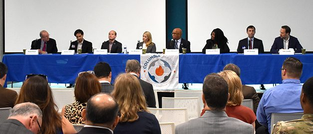 City council candidates debate issues at library forum