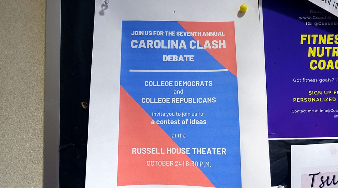 Democrats and Republicans come together for annual Carolina Clash debate