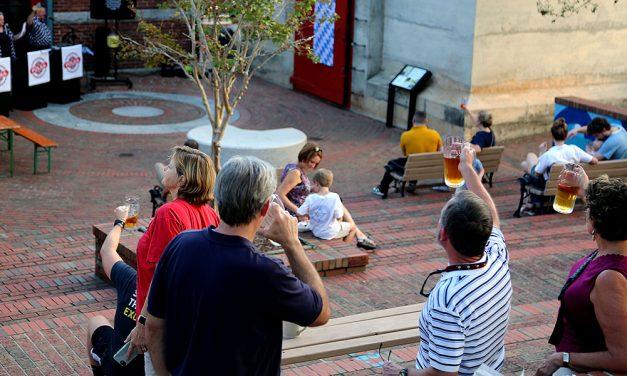 Pop-up beer garden brings authentic German culture to Columbia