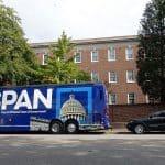 C-SPAN bus brings 2020 Battleground States Tour to Columbia