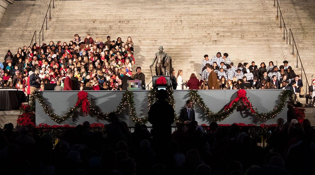 Carolighting ceremony lights up the Midlands