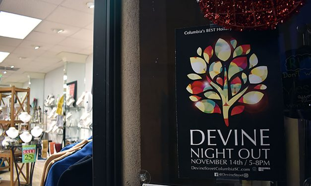 A stroll along Devine Street to get in the holiday spirit