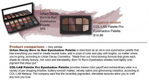 Luxury and Drugstore Eyeshadow